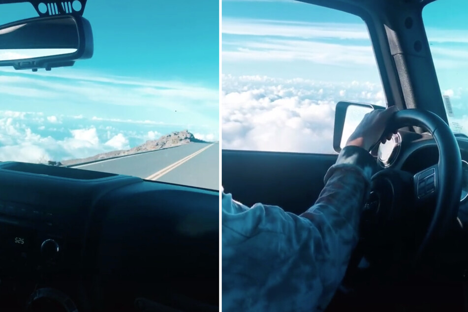Flight of fancy: TikTok user wows the internet with amazing driving video