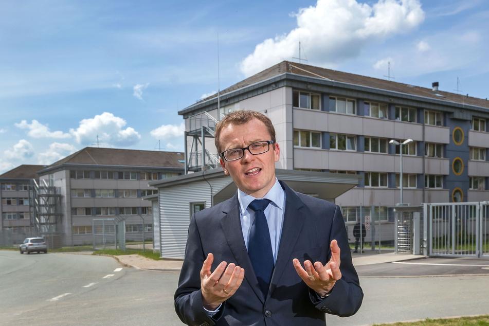Der CDU-Bundestagsabgeordnete Alexander Krauß (45) lud seinen Kritiker zum Gespräch ein.