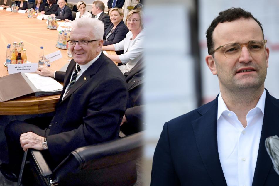 Gesundheitsminister Jens Spahn zu Gast bei Sondersitzung des Kabinetts