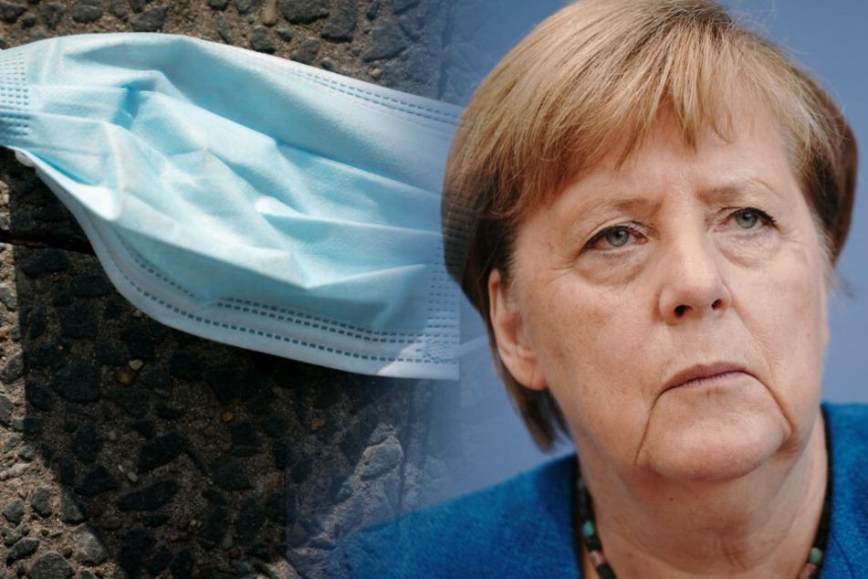 Angela Merkel (66, CDU) ist wegen der steigenden Infektionszahlen sehr besorgt.