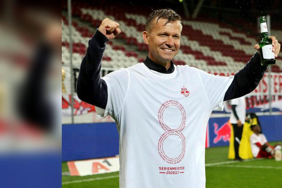 Jesse Marsch kommt als Double-Sieger nach Leipzig: Salzburg zum achten Mal in Folge Meister