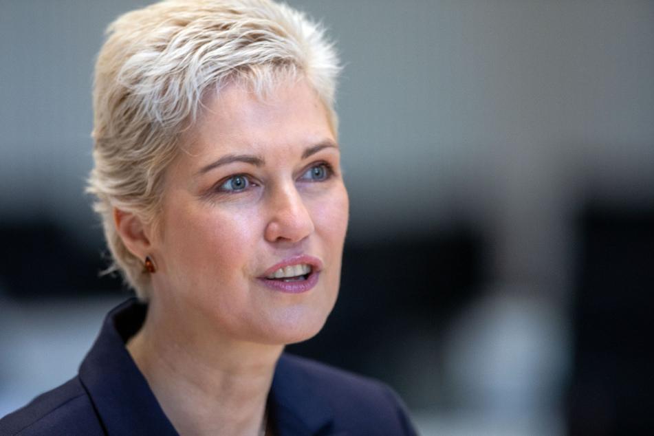 Kann sich über sehr wenig Corona-Fälle freuen: Manuela Schwesig (46), Ministerpräsident Mecklenburg-Vorpommerns.