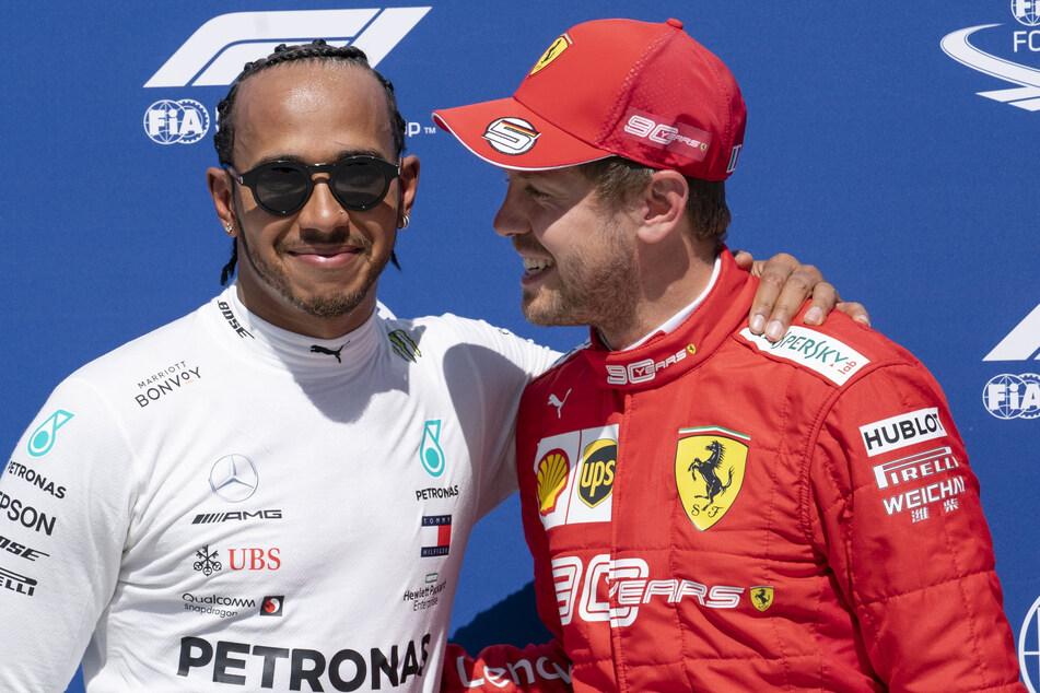 Lewis Hamilton und Sebastian Vettel werden im Oktober wieder am Nürburgring fahren.