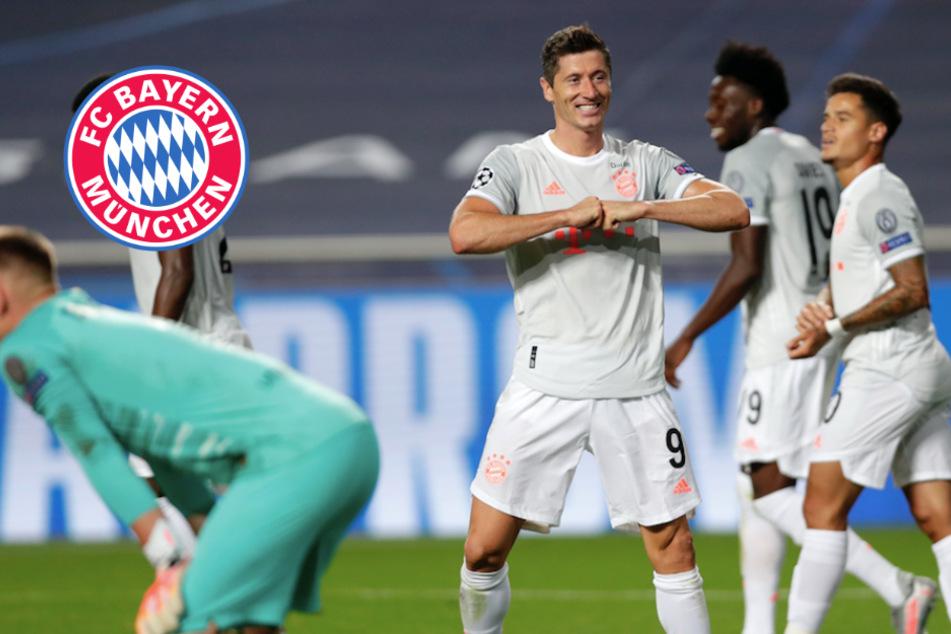 """FC Bayern """"euphorisch"""": Atemberaubende Fußball-Sternstunde gegen Barca"""