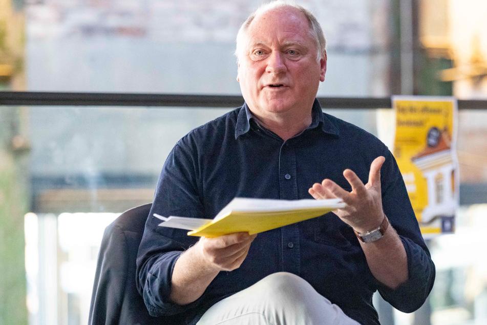 Dr. Bernhard Sterra (62), Abteilungsleiter des Amts für Kultur und Denkmalschutz Dresden, will vor allem Interesse für zunächst unscheinbar wirkende Gebäude wecken.