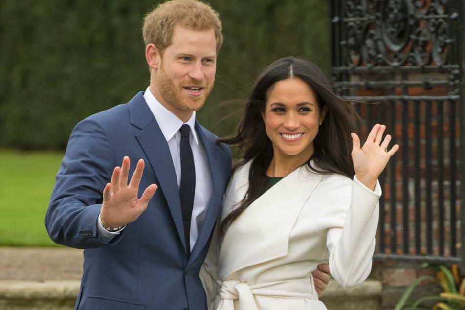 Prinz Harry (35) und Herzogin Meghan (38) im März in London.