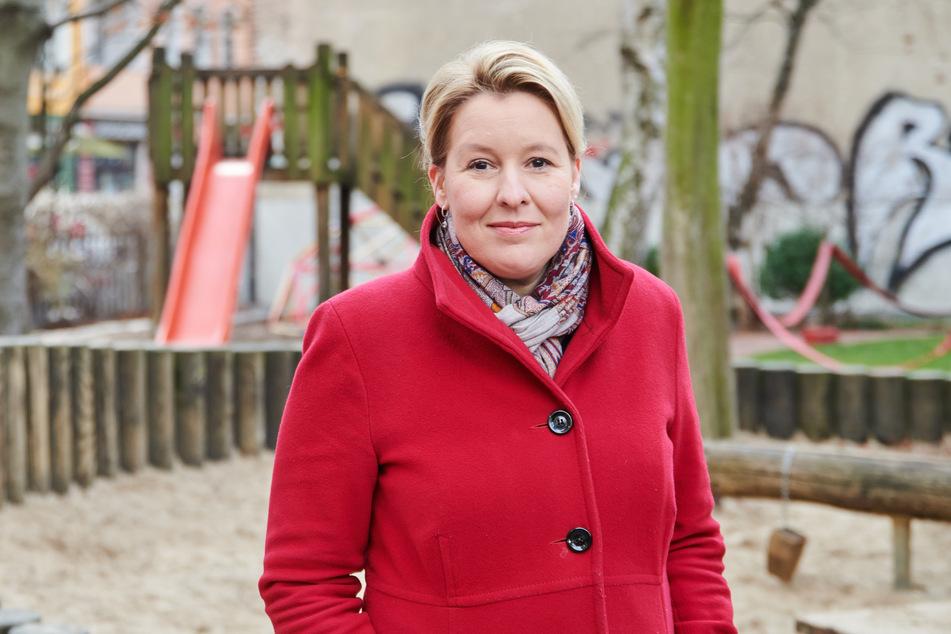 Franziska Giffey (42), Bundesministerin für Familie, Senioren, Frauen und Jugend.