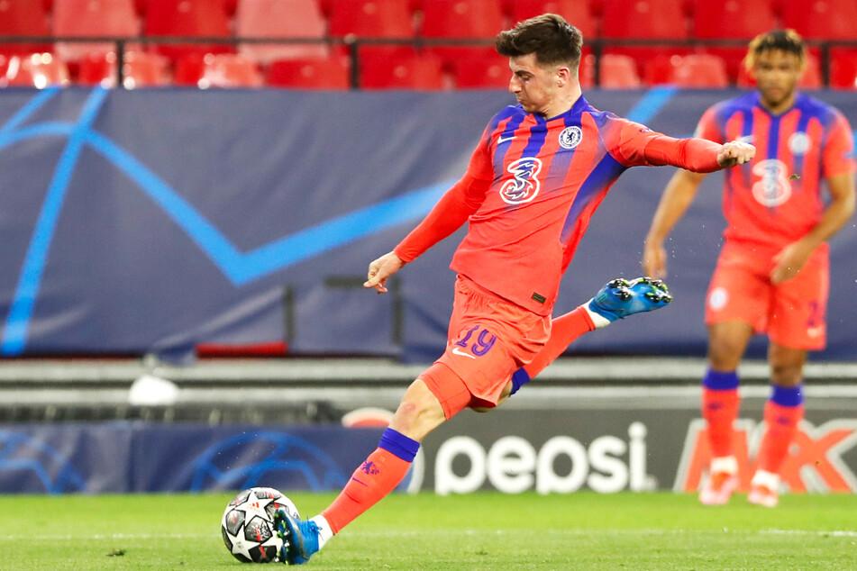 Mason Mount brachte den FC Chelsea mit seinem Treffer beim FC Porto in Führung.