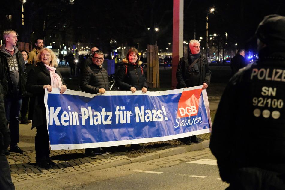Weil trotz Corona Nazis marschieren wollen, organisiert sich auch der Gegenprotest.