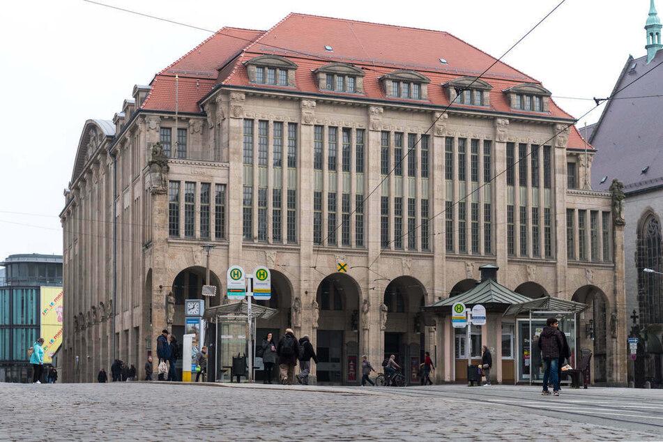Das Jugendstilkaufhaus in Görlitz ist erneut Drehort für Filmproduktionen.