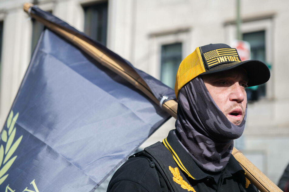 The Proud Boys were a source of much controversy during the protest.