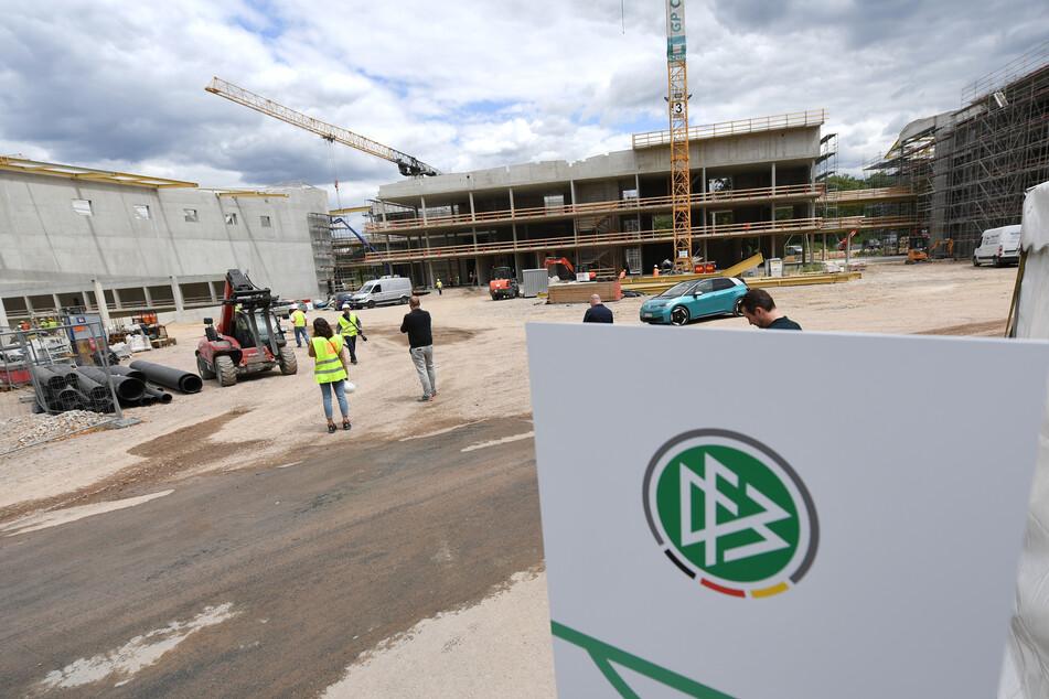 Wird diese DFB-Baustelle zum Quartier der deutschen Nationalmannschaft?