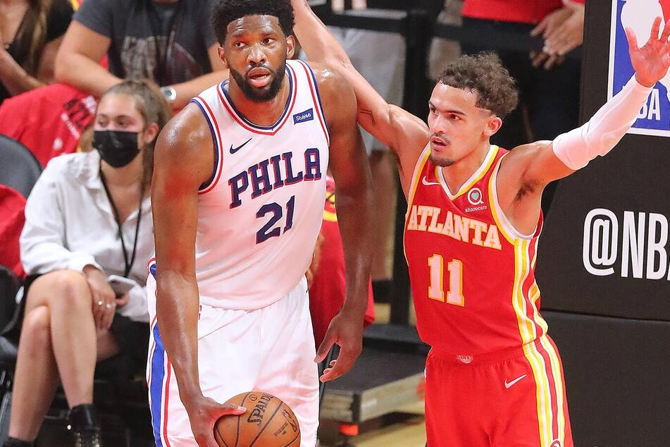 NBA Playoffs: The Hawks hold on at home in game four to tie the series against the Sixers