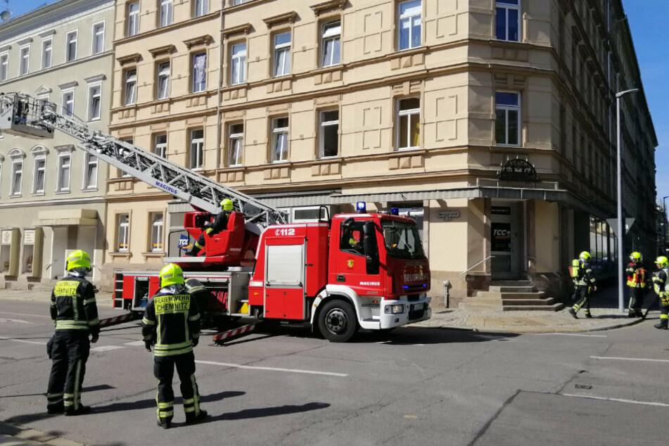 Kleinkind löst Feuerwehreinsatz in Chemnitz aus