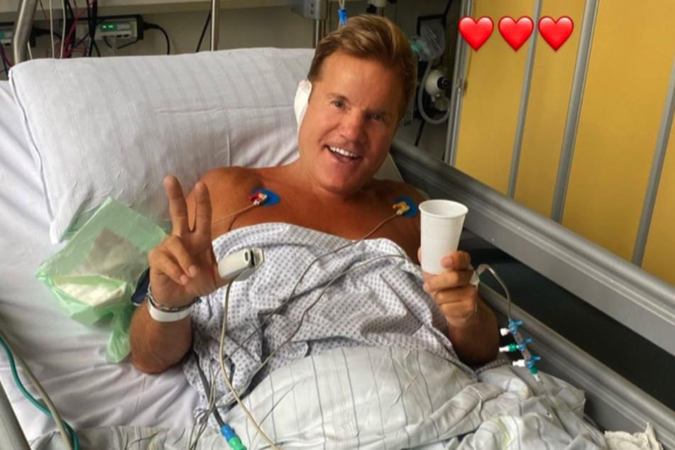 Gut gelaunt meldet sich Dieter Bohlen (67) nach seiner Ohr-Operation aus dem Krankenhaus.