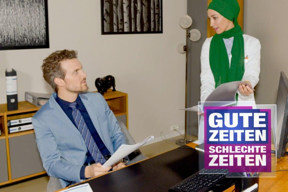 GZSZ: Gefühlschaos bei GZSZ: Werden Felix und Nazan jetzt ein Paar?