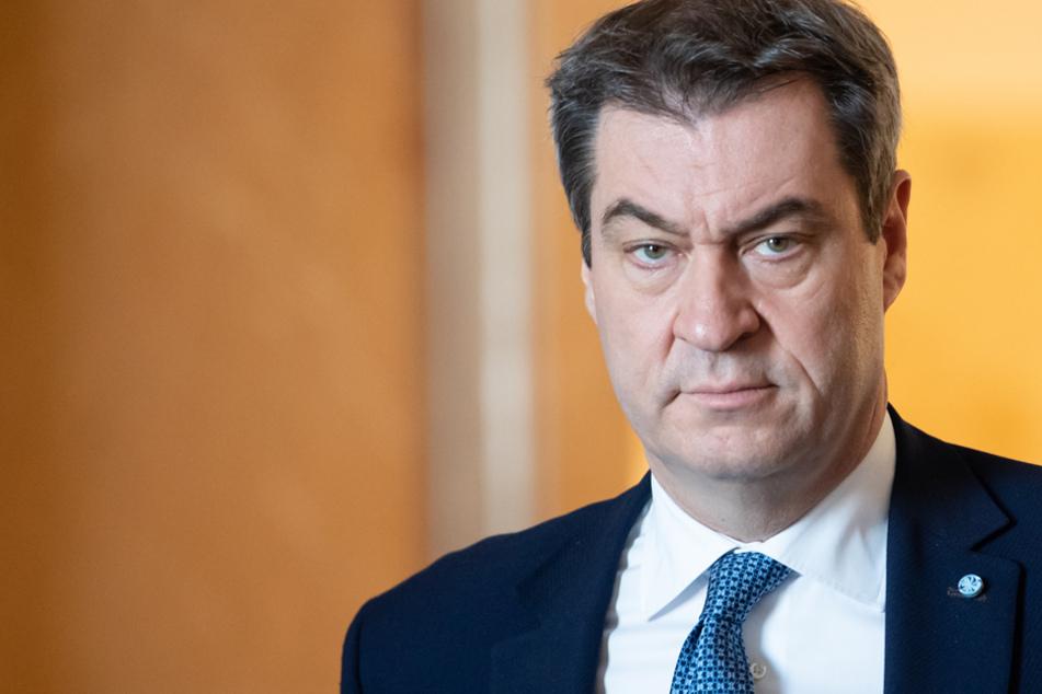 Geradlinig im Kampf gegen die Ausbreitung des neuartigen Coronavirus: CSU-Chef Markus Söder. (Symbolbild)