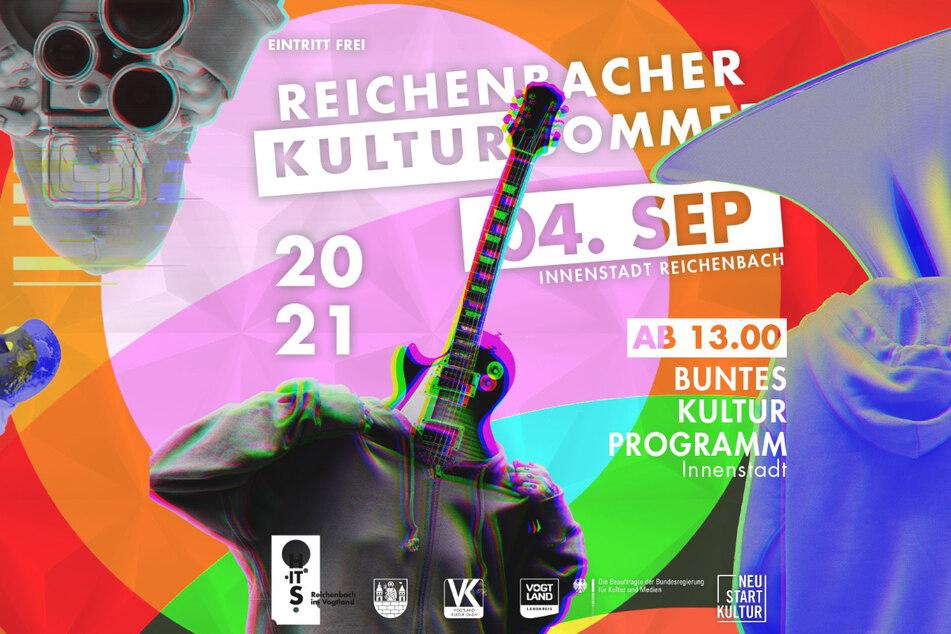 Musik, Attraktionen für Groß und Klein sowie kulinarische Leckerei gibt es beim Reichenbacher Kultursommer.
