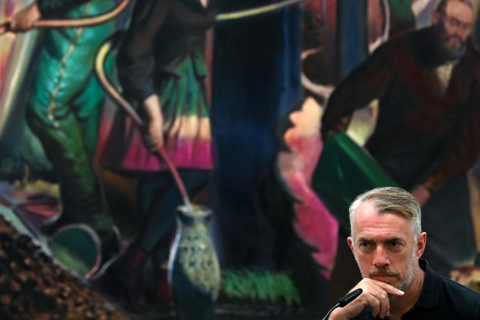 Neo Rauch stellt in seiner Heimatgalerie in Leipzig aus