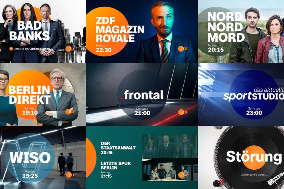 So schaut's aus, das neue ZDF-Promotion-Design 2021.
