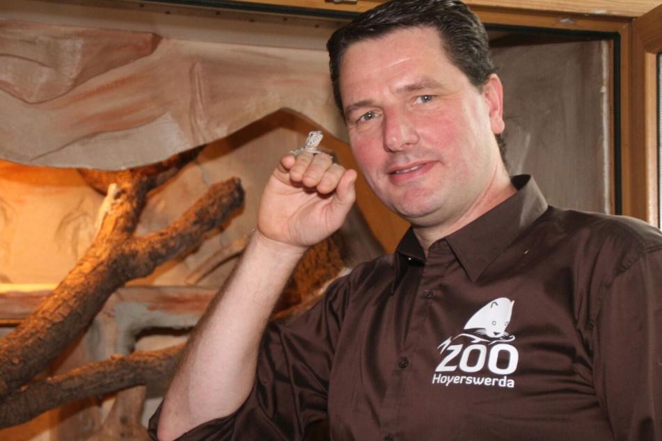 Eugène Bruins (52) Zoo erfuhr viel Bürgerzuwendung - und verfünffachte seine Tierpatenschaften.