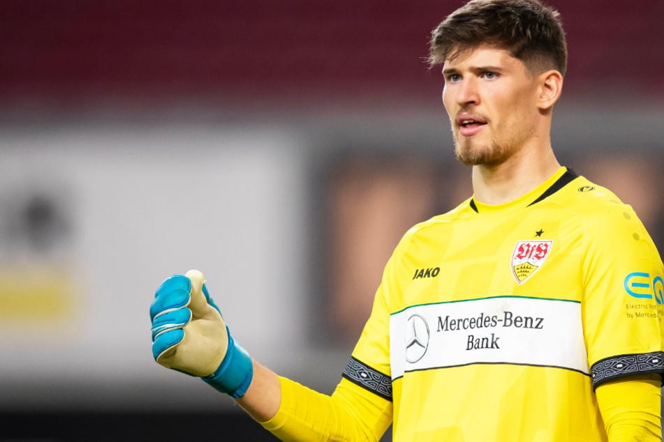 VfB-Keeper Gregor Kobel (23) steht kurz vor einem Wechsel zu Borussia Dortmund.