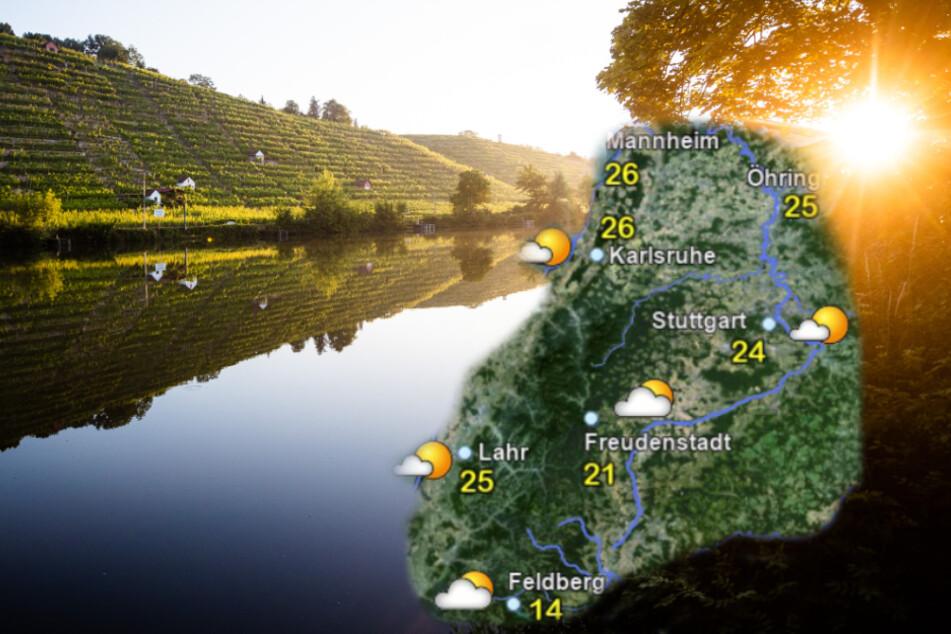Herrlich warmer Wochenstart in Baden-Württemberg