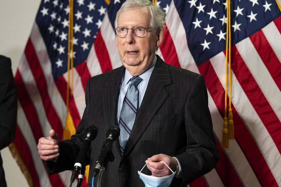 Trump railed against Senate Minority Leader Mitch McConnell, blaming him for the Republican losses in the Georgia Senate runoffs.