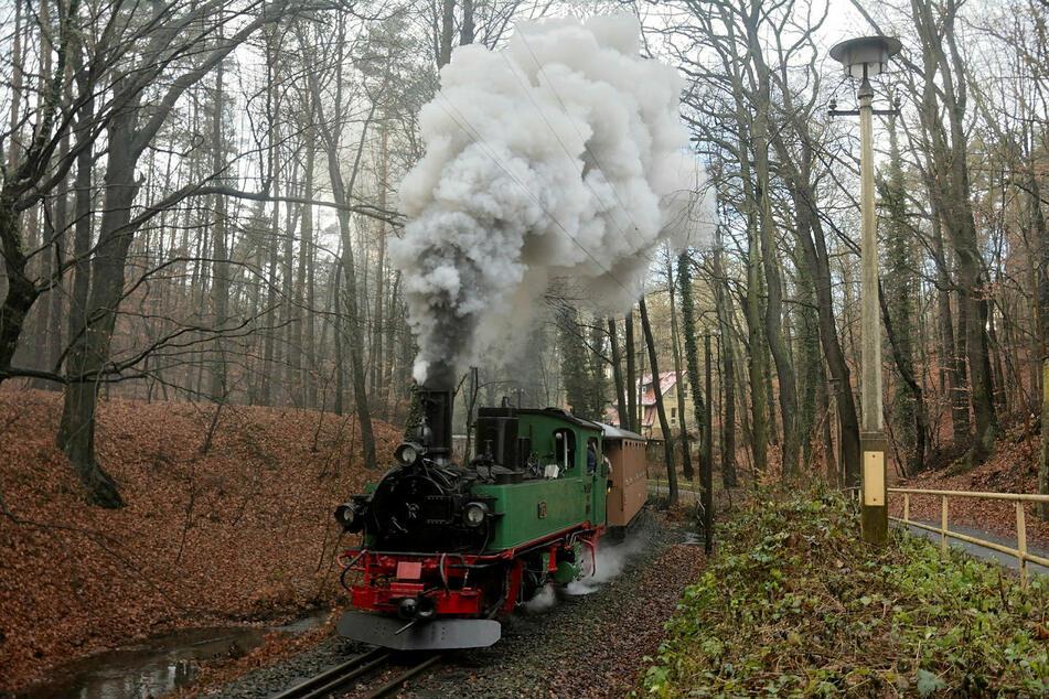 Nach der Reparatur hat die Dampflok erfolgreich ihre Probefahrten gemeistert.