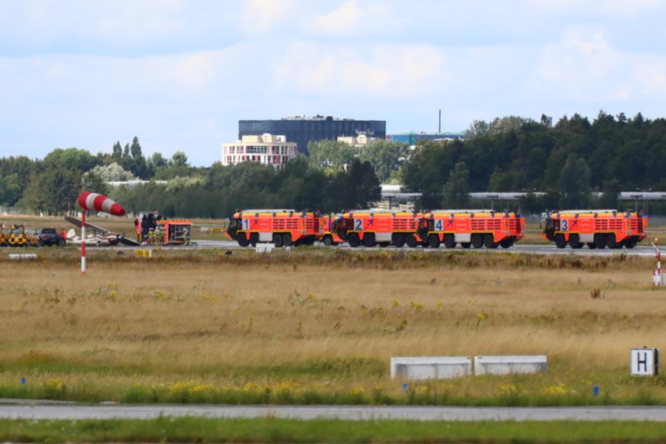Flughafen Hamburg nach Unfall auf Landebahn gesperrt