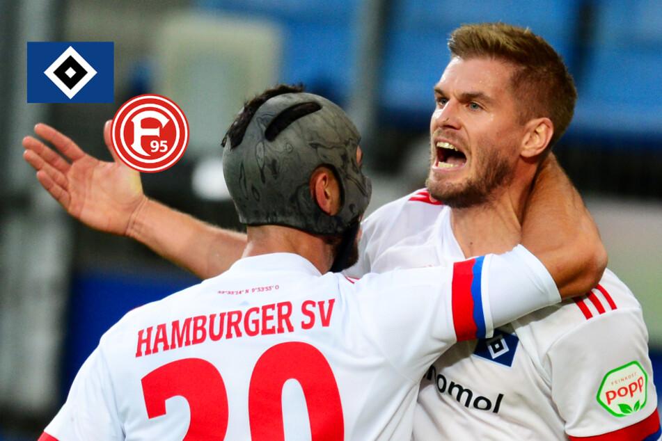 HSV feiert dank Terodde-Doppelpack Auftaktsieg gegen Düsseldorf!