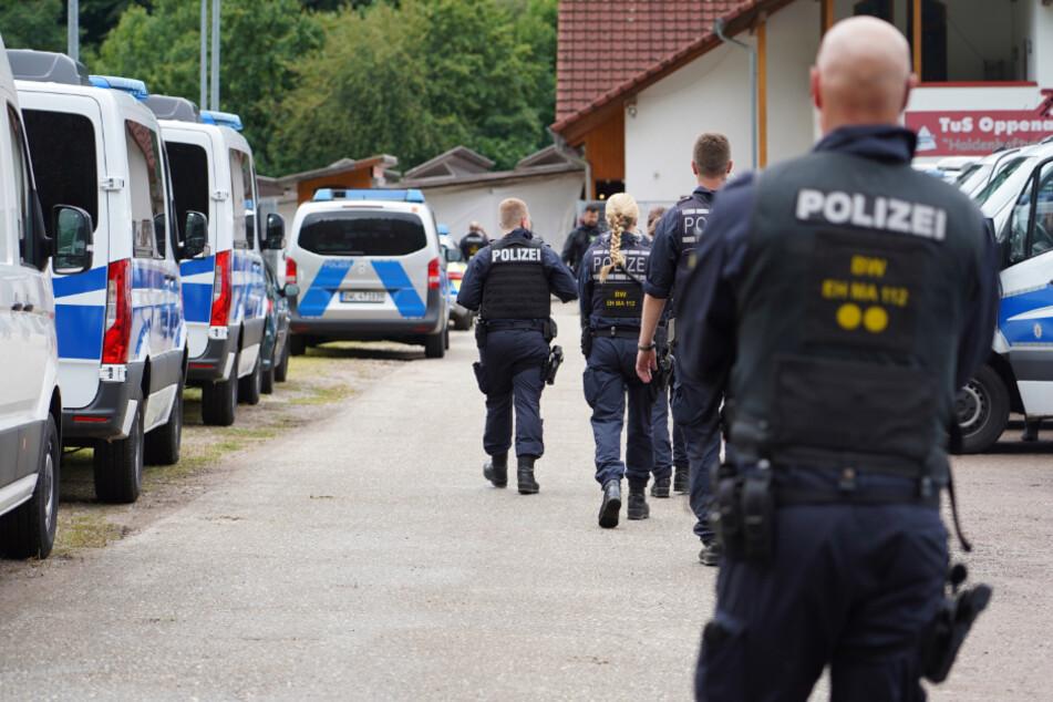 Die Polizei suchte im Juli mit einem Großaufgebot nach dem 31-Jährigen.