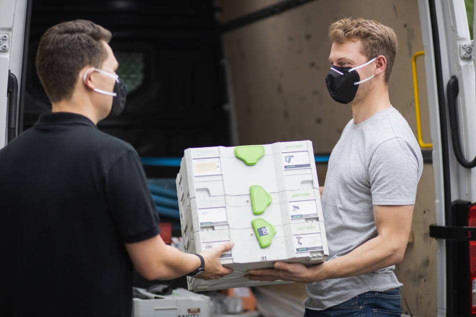 Geniale neue Masken aus Sachsen: Sie können Viren töten!