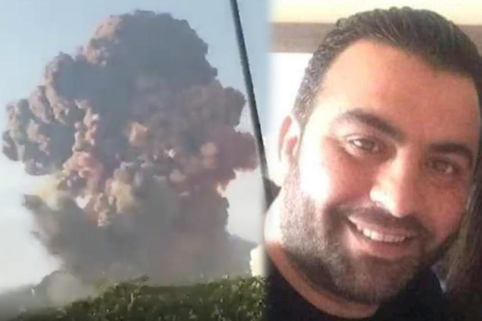 Mann wird 30 Stunden nach Explosion in Beirut gerettet, bleibt aber verschollen