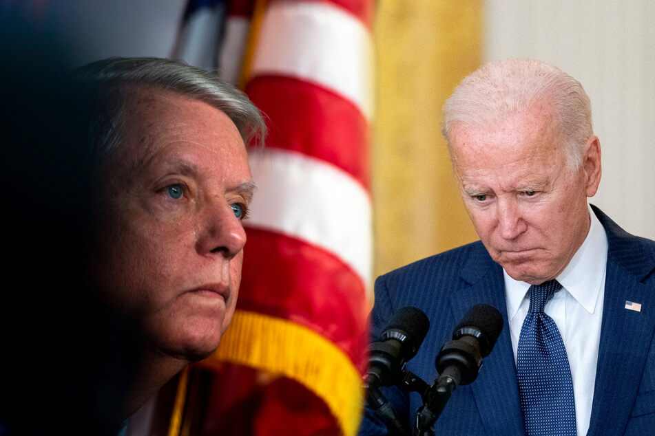 Lindsey Graham calls for Biden's impeachment over Afghanistan withdrawal