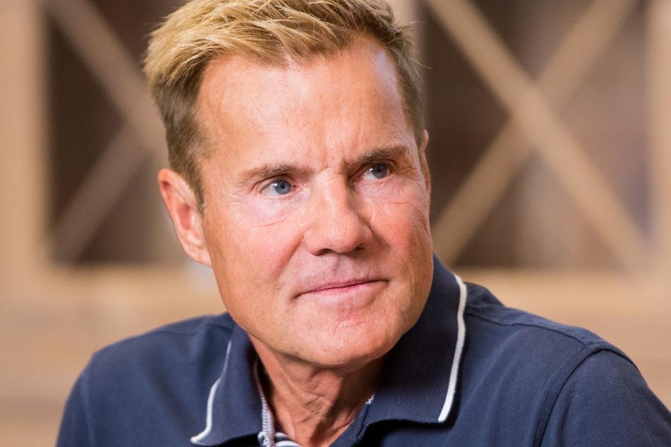 Sprung geht schief: Dieter Bohlen kracht in Swimmingpool
