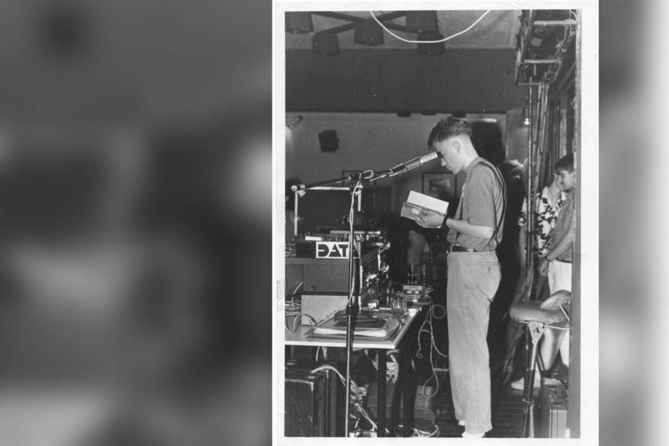 """Auch der Chemnitzer Kult-DJ Dirk Duske (50) legte oft im """"B-Plan""""/""""Panorama"""" auf, hier etwa 1986."""