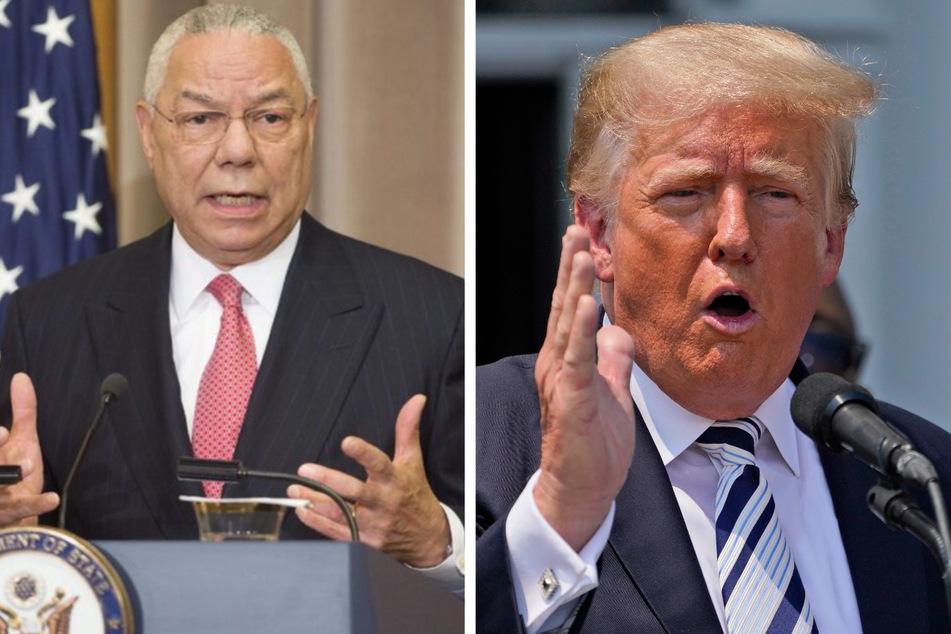 """Trump spottet über gestorbenen Ex-Außenminister Powell: """"Er hat viele Fehler gemacht"""""""
