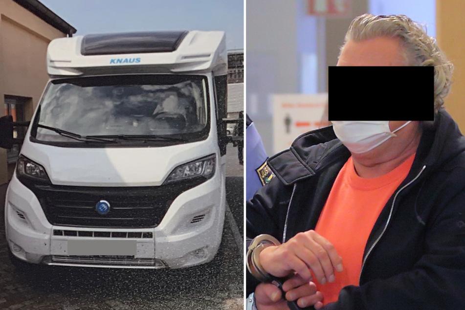 Er wurde mit Kriegswaffen im Wohnwagen auf der A4 erwischt: Holländer packt vor Gericht aus