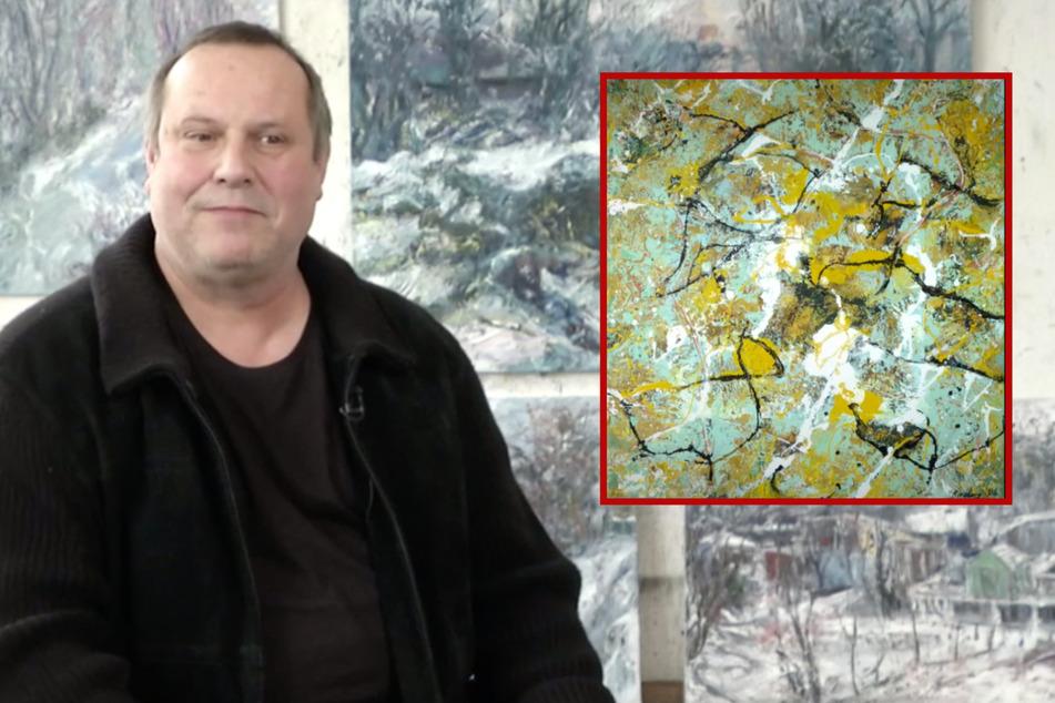"""Leipzig: 4000 Euro teures Gemälde aus Treppenhaus gestohlen: """"Wer macht so was?"""""""