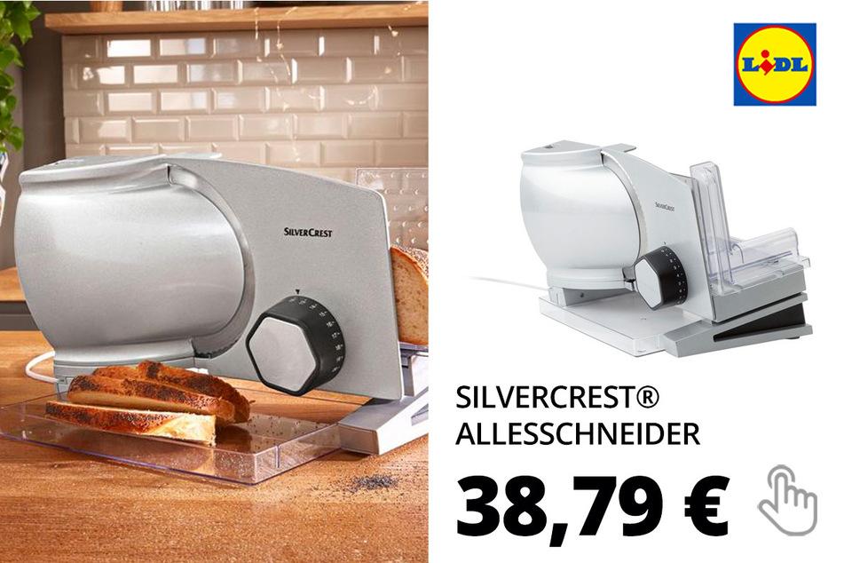 SILVERCREST® Allesschneider, 120 Watt, mit Auflagentisch