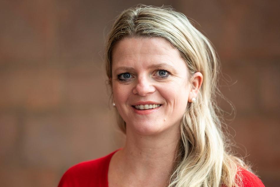 Susanne Schaper (43, Linke) will die neue Sozialbürgermeisterin von Chemnitz werden.
