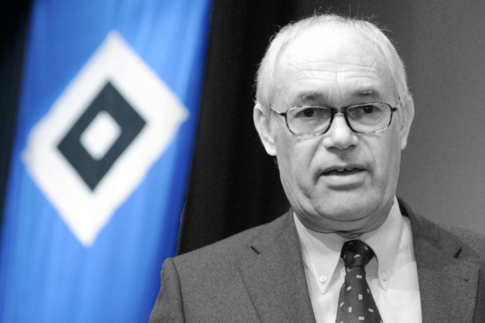 HSV trauert um ehemaligen Aufsichtsrat-Chef Ernst-Otto Rieckhoff (†69)