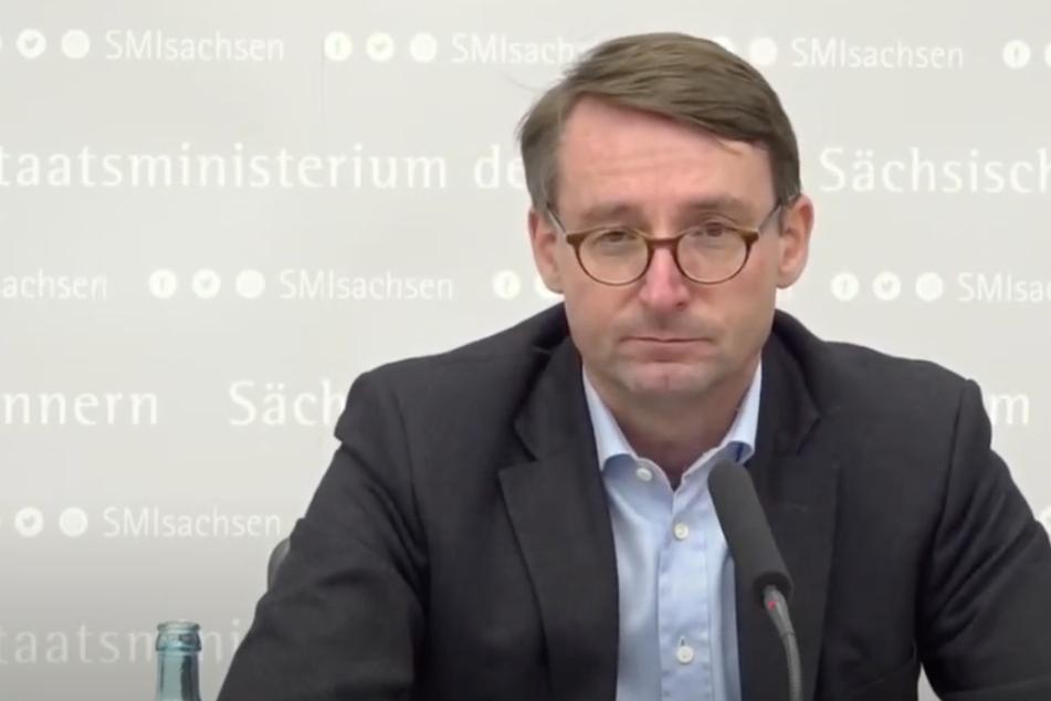 """Nach """"Querdenken""""-Demo in Leipzig: Sachsens Innenminister steht hinter Polizei"""
