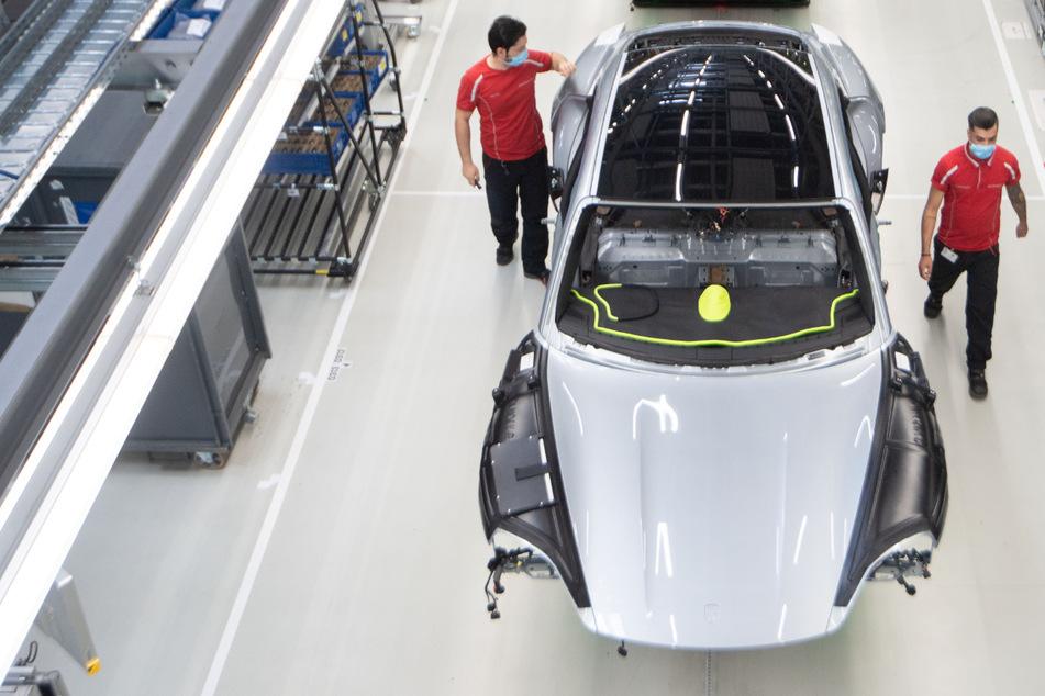Sportwagenbauer Porsche holt bei Verkaufszahlen wieder auf