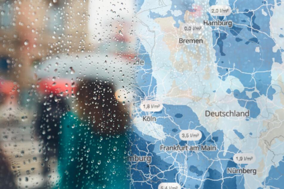 """""""Brigitte"""" bringt Herbstwetter: Hier drohen stürmische Zeiten"""