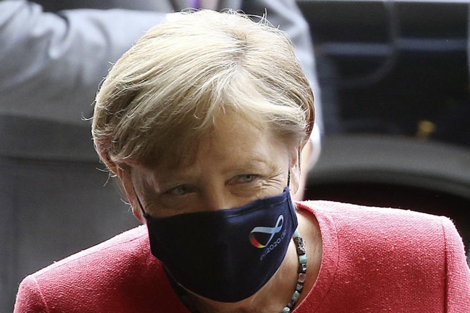 Bundeskanzlerin Angela Merkel (65).