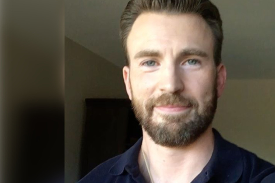 Chris Evans tweets about nude pic, but he has a more pressing concern