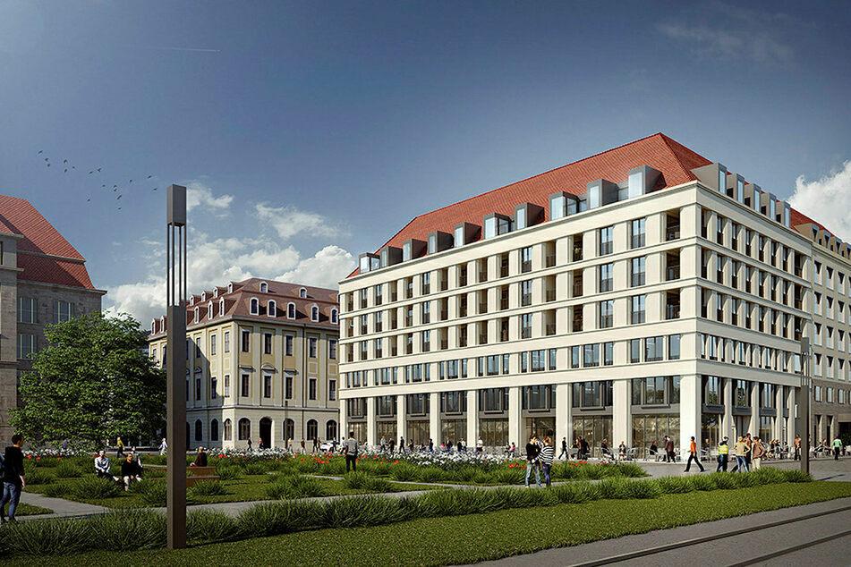 So soll der Bau an der Ringstraße einmal aussehen.