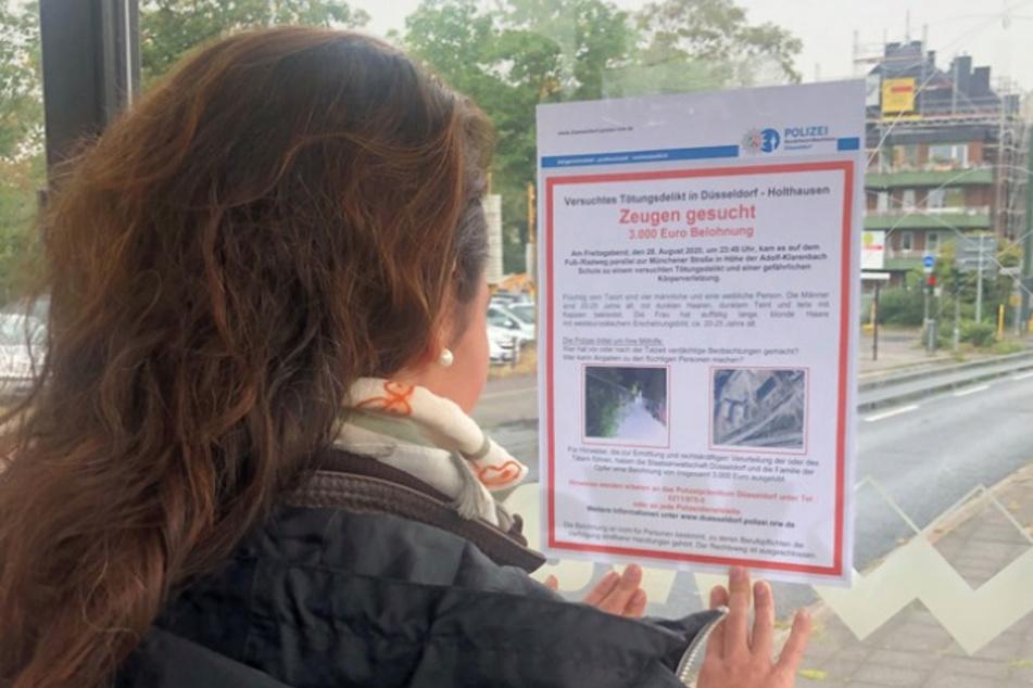 Messerstecher in Düsseldorf gesucht: Polizei setzt hohe Belohnung aus